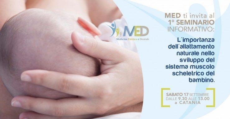L'importanza dell'allattamento naturale nello sviluppo del sistema muscolo scheletrico del bambino.