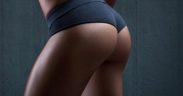 Un fondo schiena scolpito